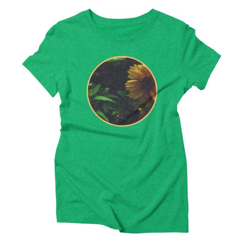 flowers #4 Women's Triblend T-Shirt by J. Lavallee's Artist Shop