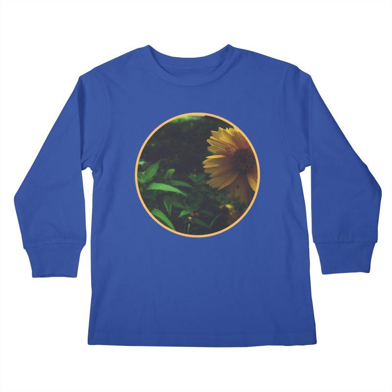 flowers #4 Kids Longsleeve T-Shirt by J. Lavallee's Artist Shop