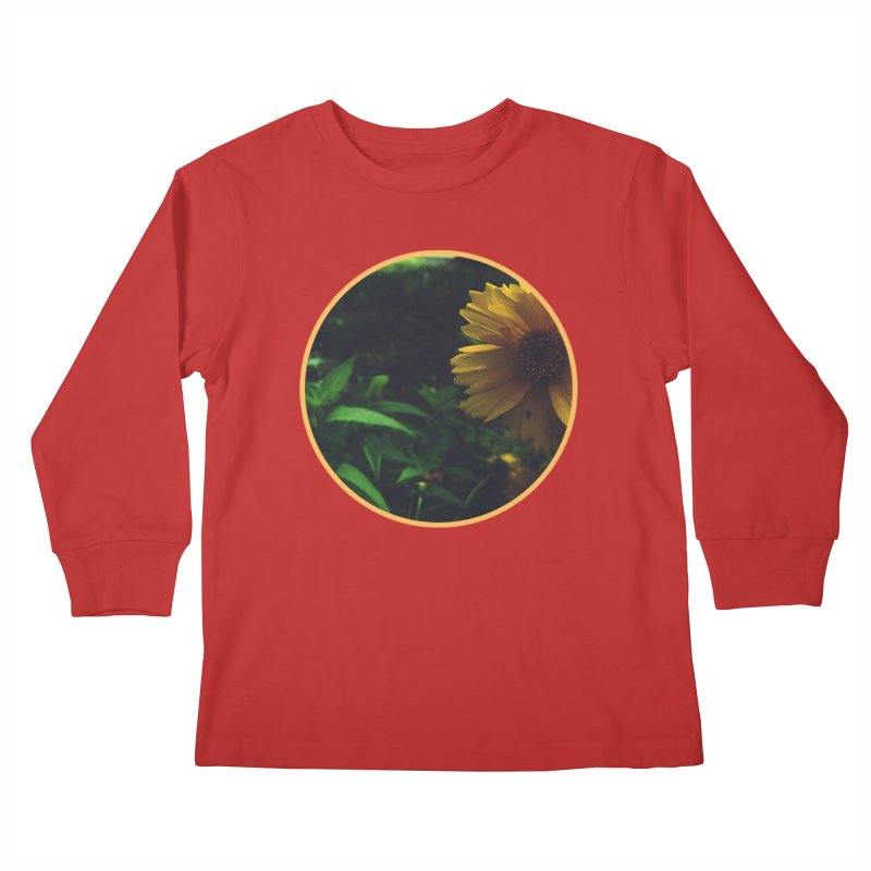 flowers #4 Kids Longsleeve T-Shirt by J. Lavallee's Artist Shop