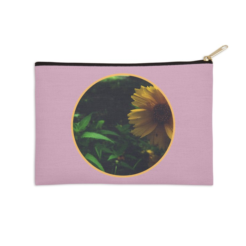 flowers #4 Accessories Zip Pouch by J. Lavallee's Artist Shop