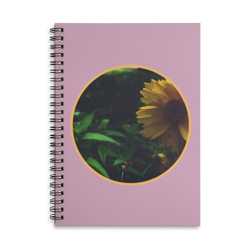 flowers #4 Accessories Lined Spiral Notebook by J. Lavallee's Artist Shop