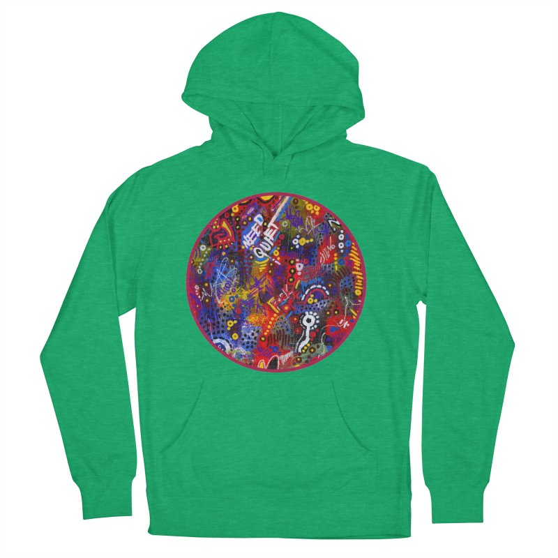 """""""meltdown imminent"""" Men's French Terry Pullover Hoody by J. Lavallee's Artist Shop"""