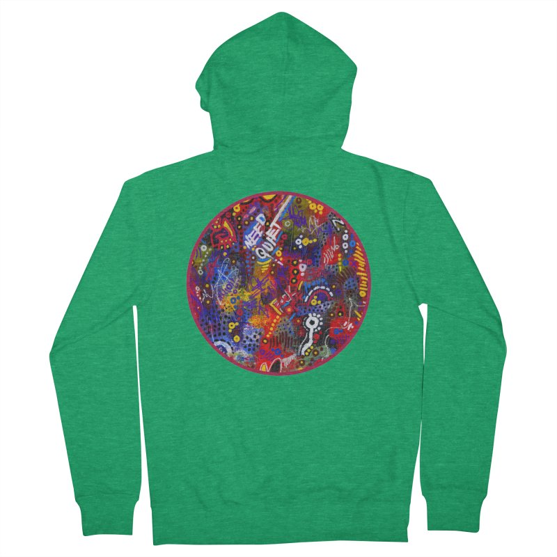 """meltdown imminent"" Women's Zip-Up Hoody by J. Lavallee's Artist Shop"