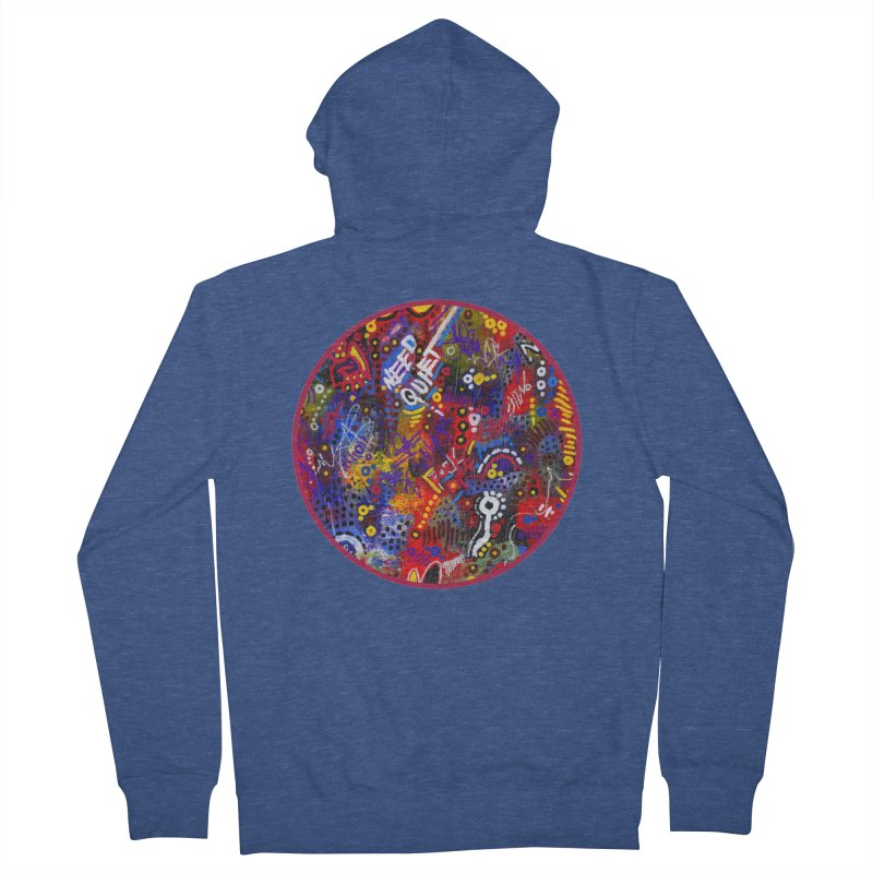 """meltdown imminent"" Men's French Terry Zip-Up Hoody by J. Lavallee's Artist Shop"
