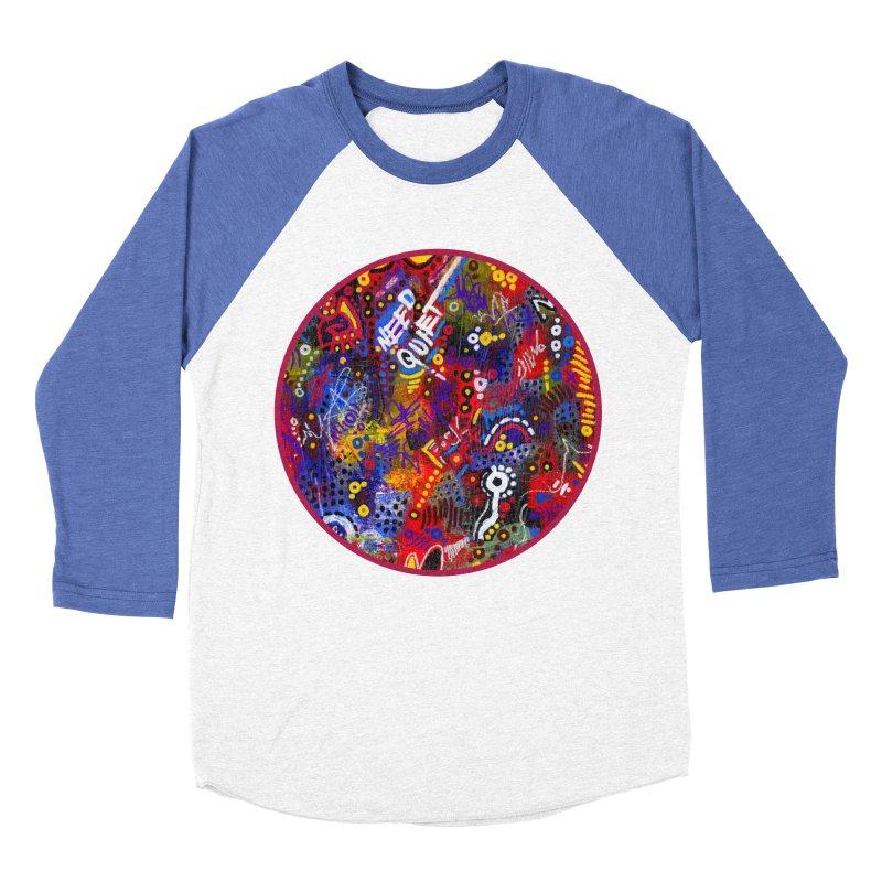 """meltdown imminent"" Women's Baseball Triblend Longsleeve T-Shirt by J. Lavallee's Artist Shop"
