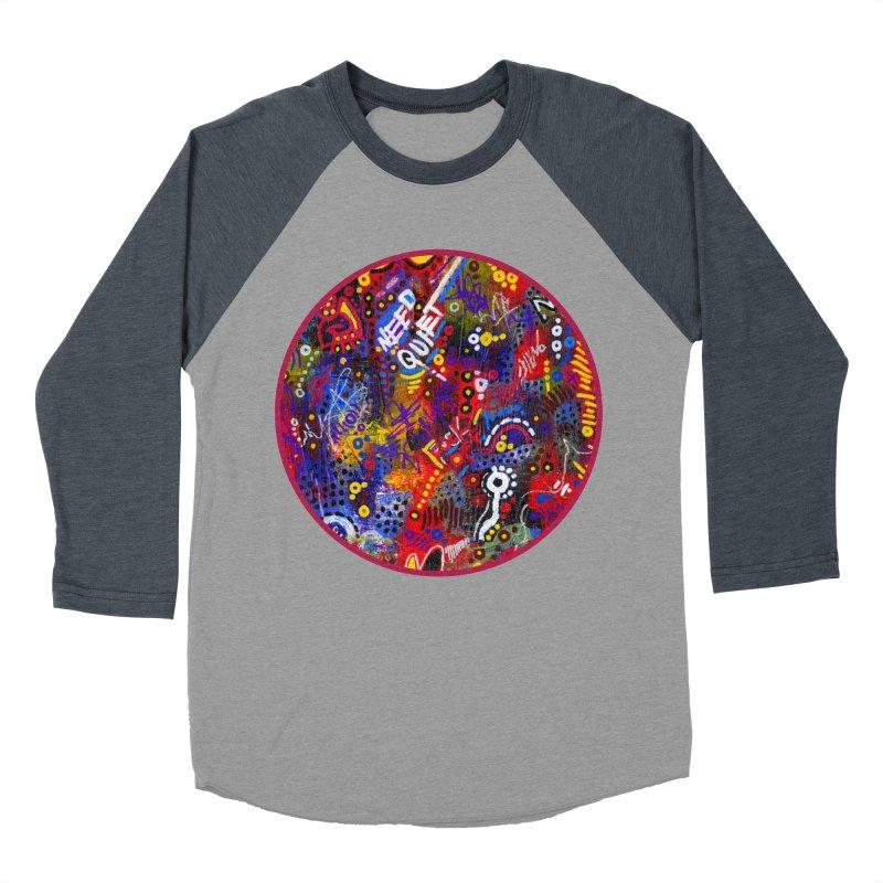 """meltdown imminent"" Men's Baseball Triblend Longsleeve T-Shirt by J. Lavallee's Artist Shop"