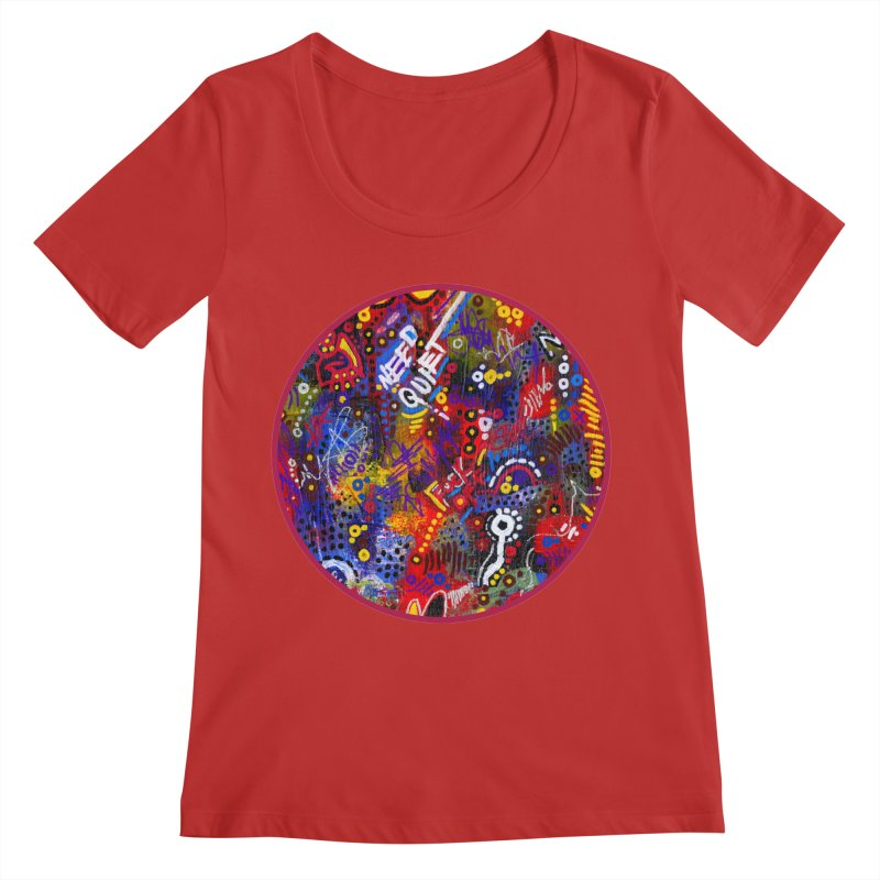 """meltdown imminent"" Women's Regular Scoop Neck by J. Lavallee's Artist Shop"