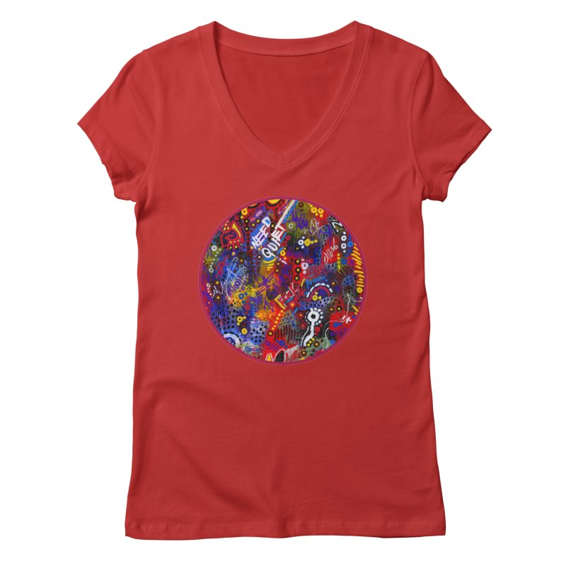 """meltdown imminent"" Women's Regular V-Neck by J. Lavallee's Artist Shop"