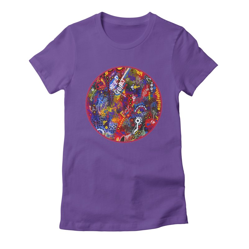 """meltdown imminent"" Women's Fitted T-Shirt by J. Lavallee's Artist Shop"
