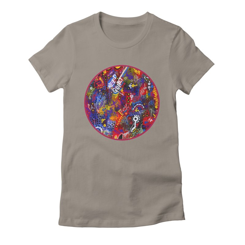 """""""meltdown imminent"""" Women's Fitted T-Shirt by J. Lavallee's Artist Shop"""