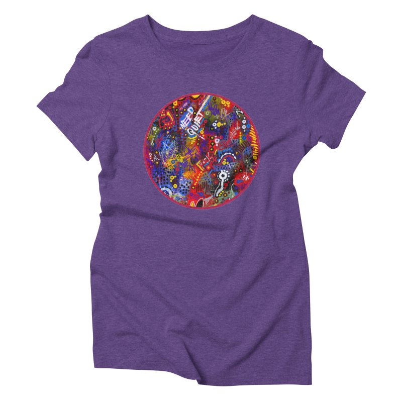 """meltdown imminent"" Women's Triblend T-Shirt by J. Lavallee's Artist Shop"