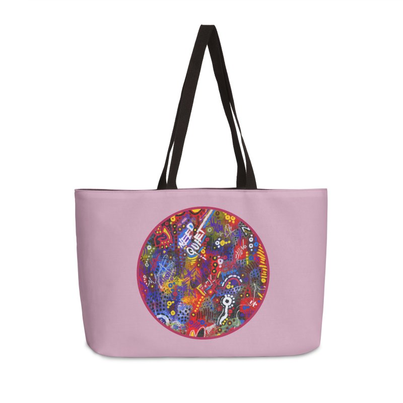 """meltdown imminent"" Accessories Weekender Bag Bag by J. Lavallee's Artist Shop"