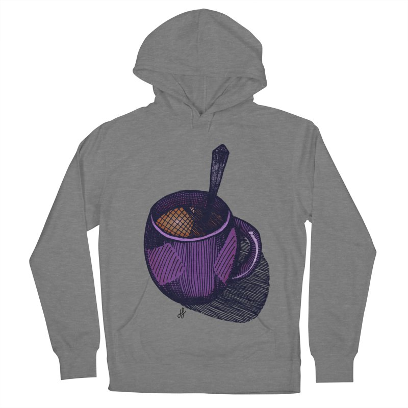 coffee mug (color version) Women's Pullover Hoody by J. Lavallee's Artist Shop
