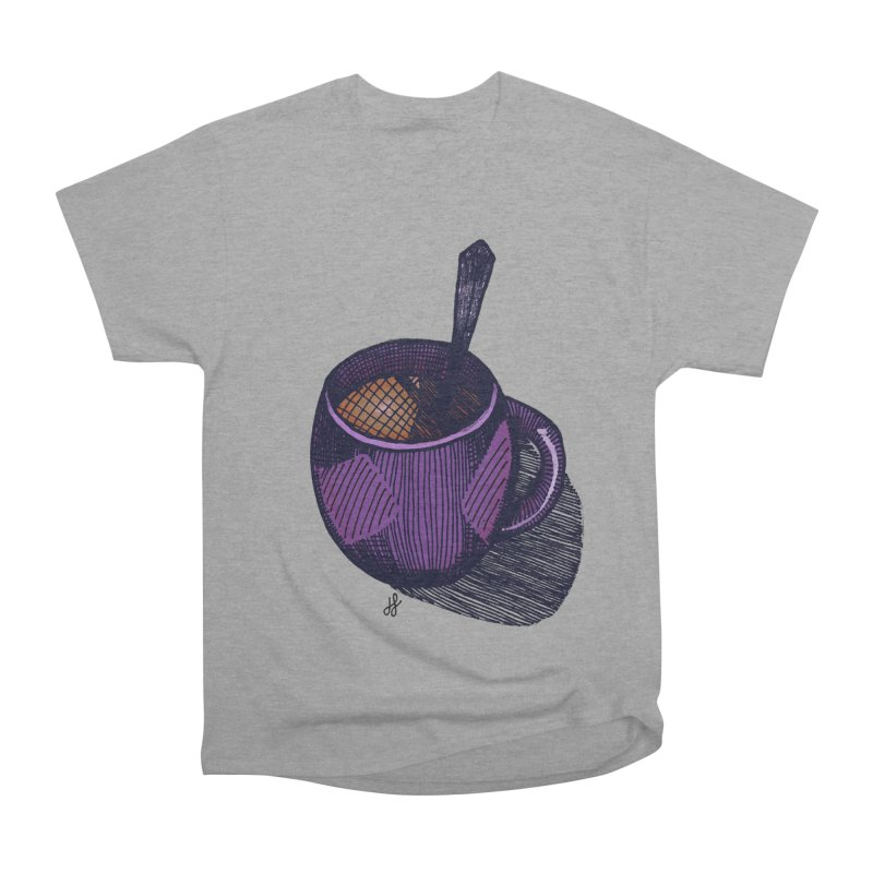 coffee mug (color version) Men's Heavyweight T-Shirt by J. Lavallee's Artist Shop