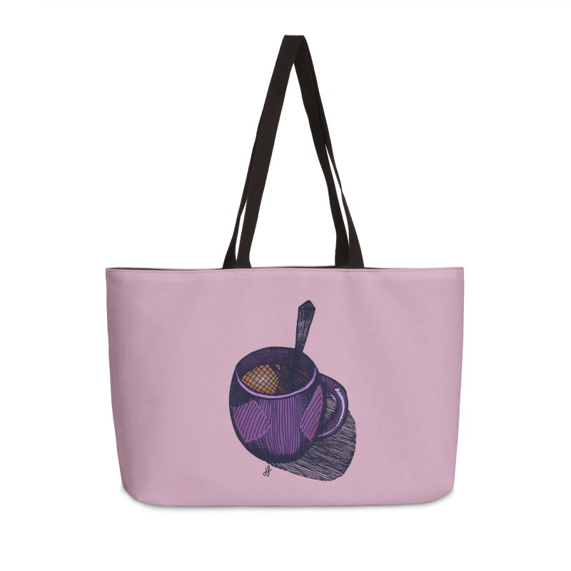 coffee mug (color version) Accessories Weekender Bag Bag by J. Lavallee's Artist Shop