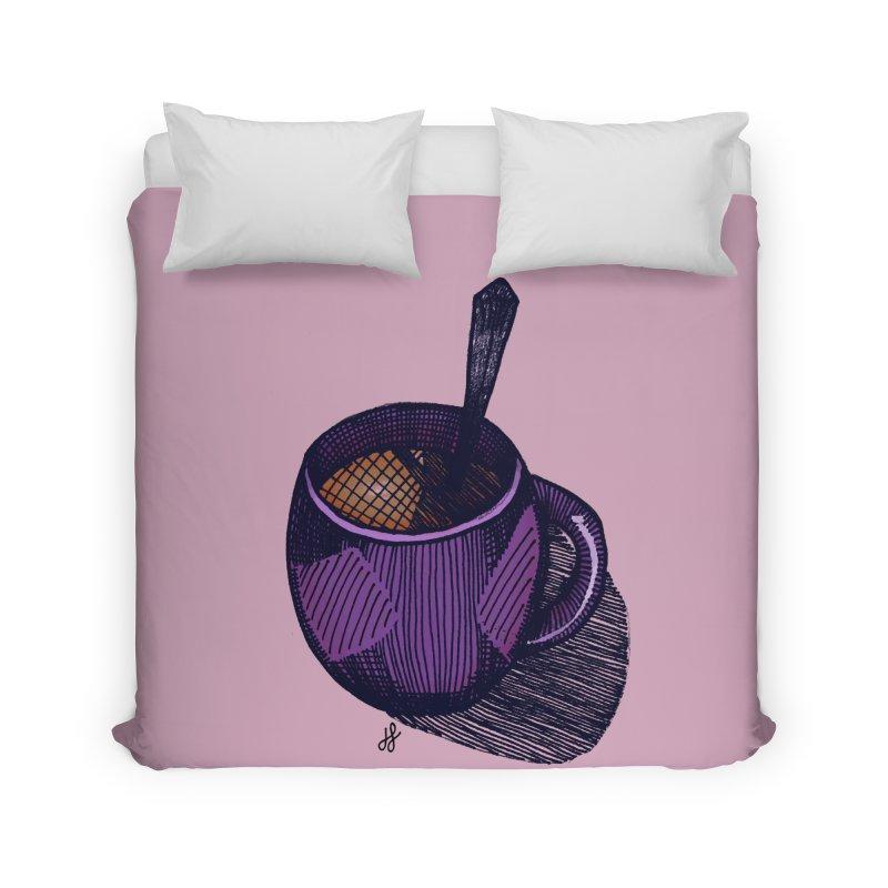 coffee mug (color version) Home Duvet by J. Lavallee's Artist Shop
