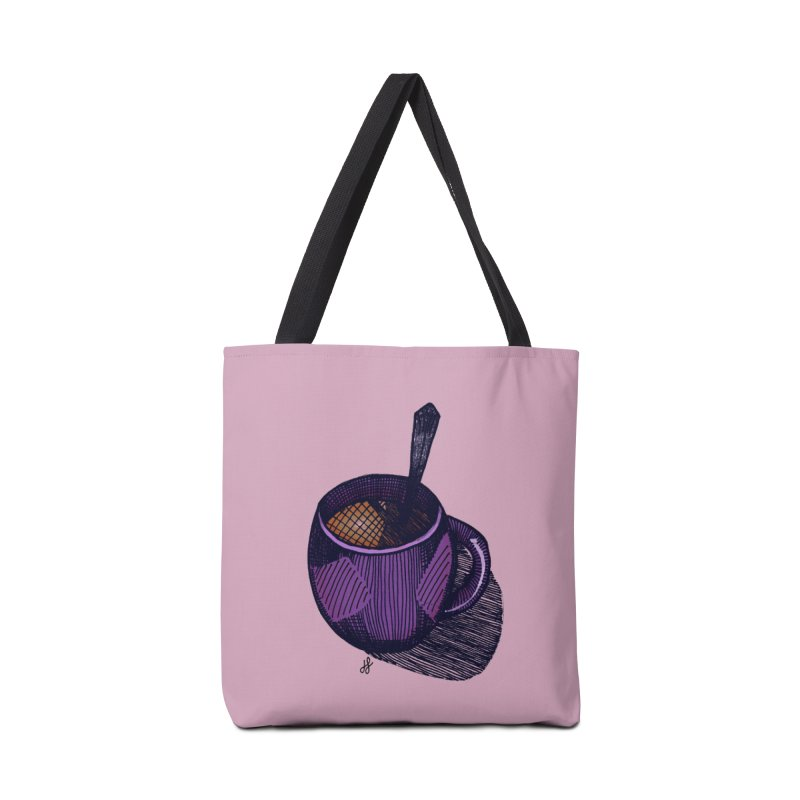 coffee mug (color version) Accessories Tote Bag Bag by J. Lavallee's Artist Shop