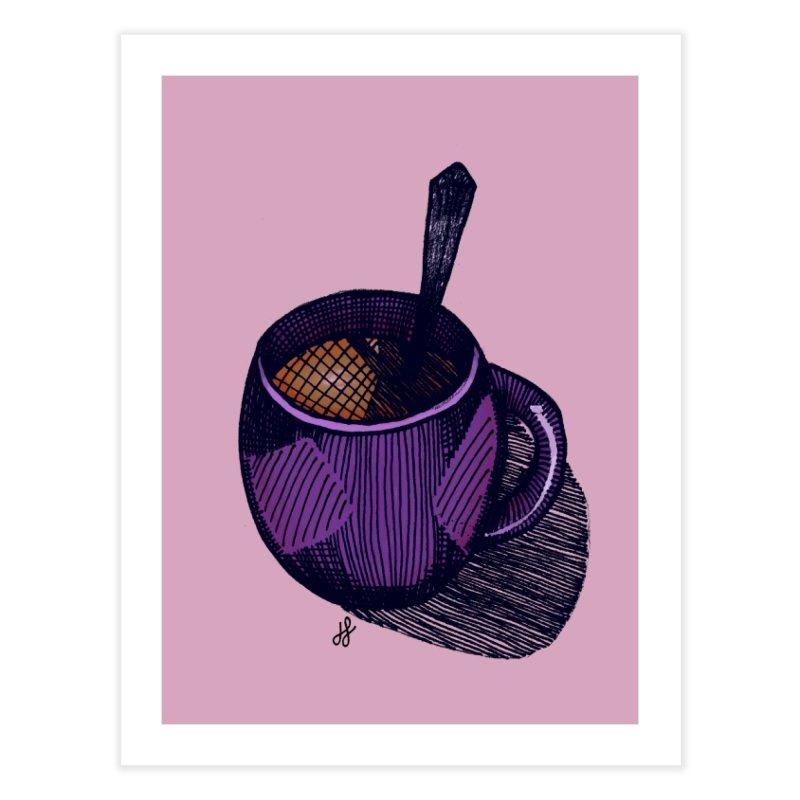 coffee mug (color version) Home Fine Art Print by J. Lavallee's Artist Shop