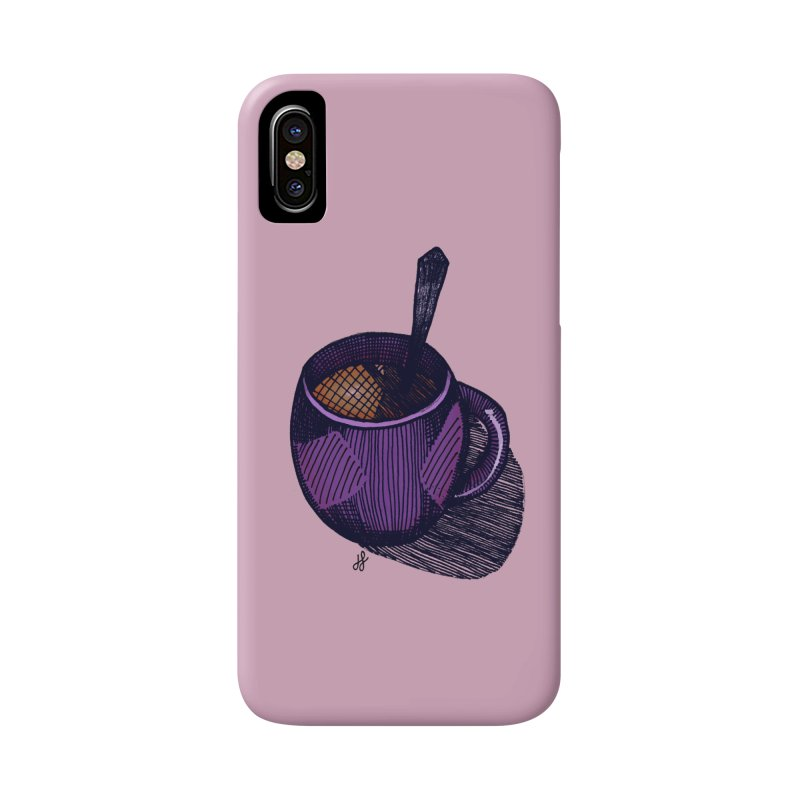 coffee mug (color version) Accessories Phone Case by J. Lavallee's Artist Shop
