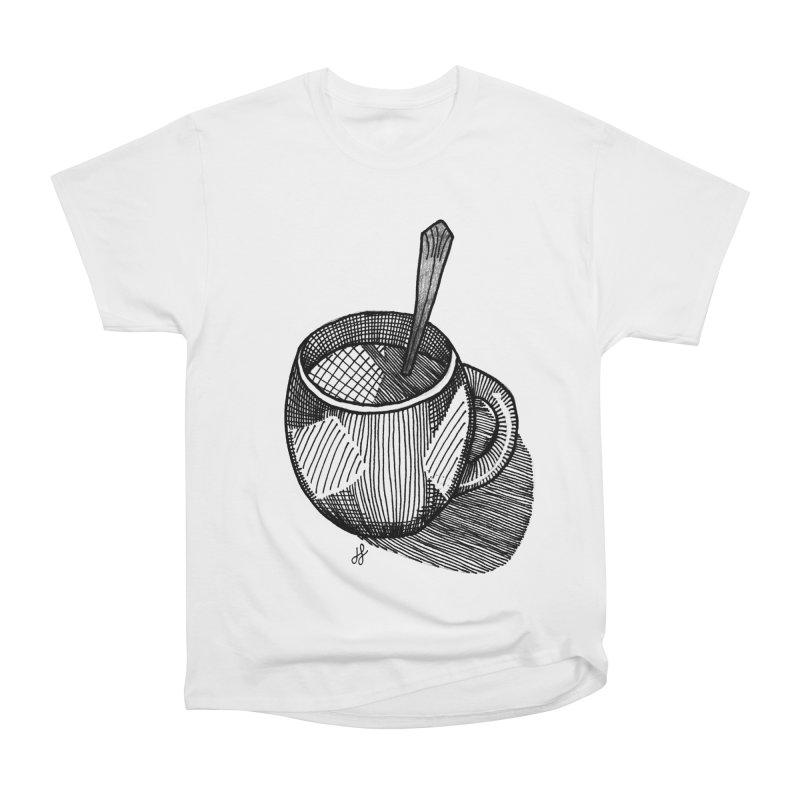 coffee mug (monochrome version) Women's T-Shirt by J. Lavallee's Artist Shop
