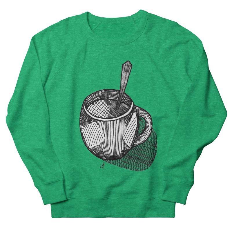 coffee mug (monochrome version) Women's Sweatshirt by J. Lavallee's Artist Shop