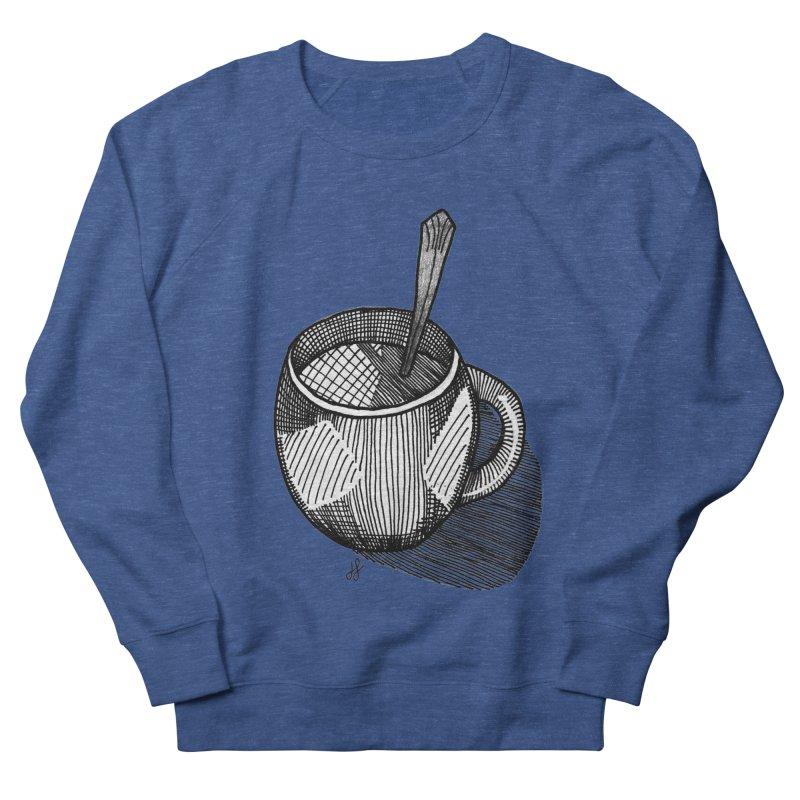 coffee mug (monochrome version) Men's Sweatshirt by J. Lavallee's Artist Shop