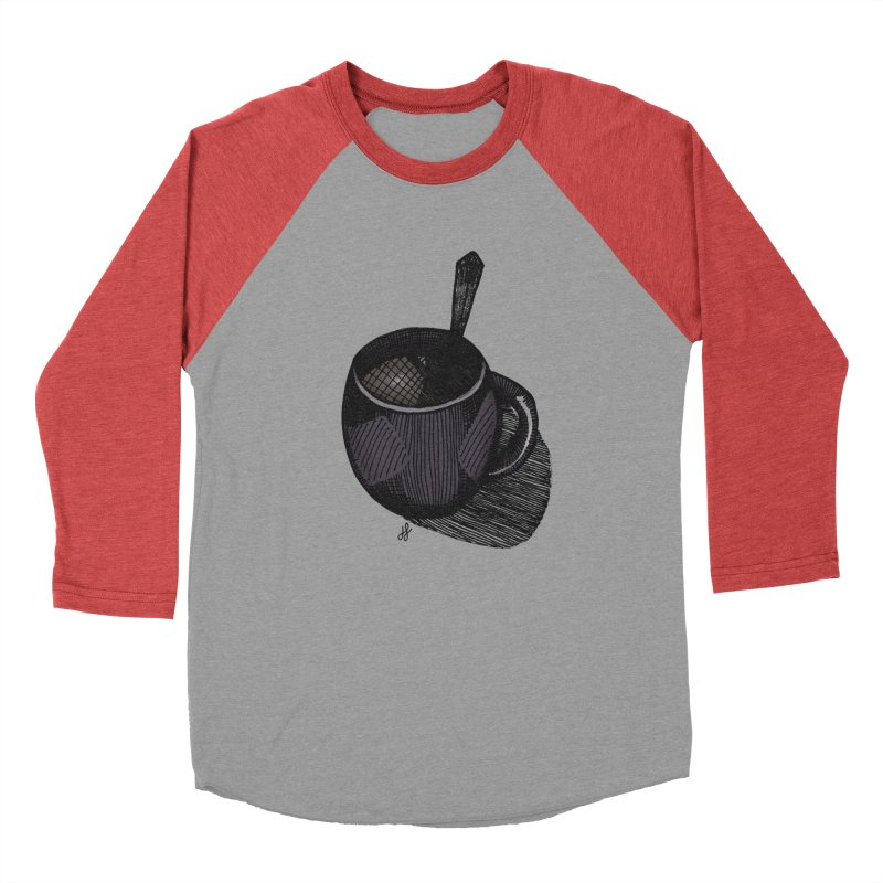 coffee mug (dark version) Men's Longsleeve T-Shirt by J. Lavallee's Artist Shop