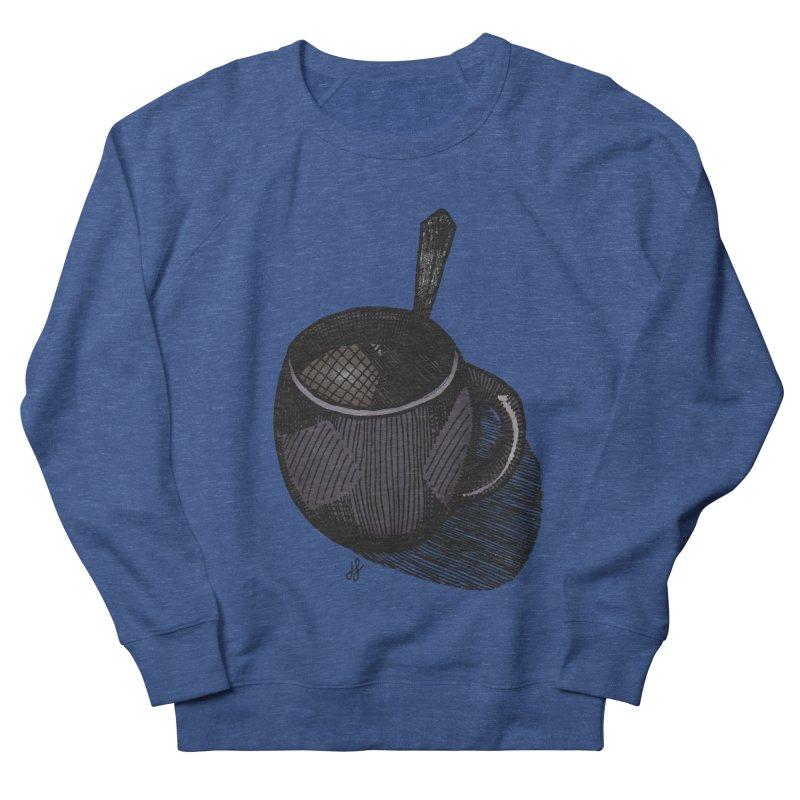 coffee mug (dark version) Women's French Terry Sweatshirt by J. Lavallee's Artist Shop