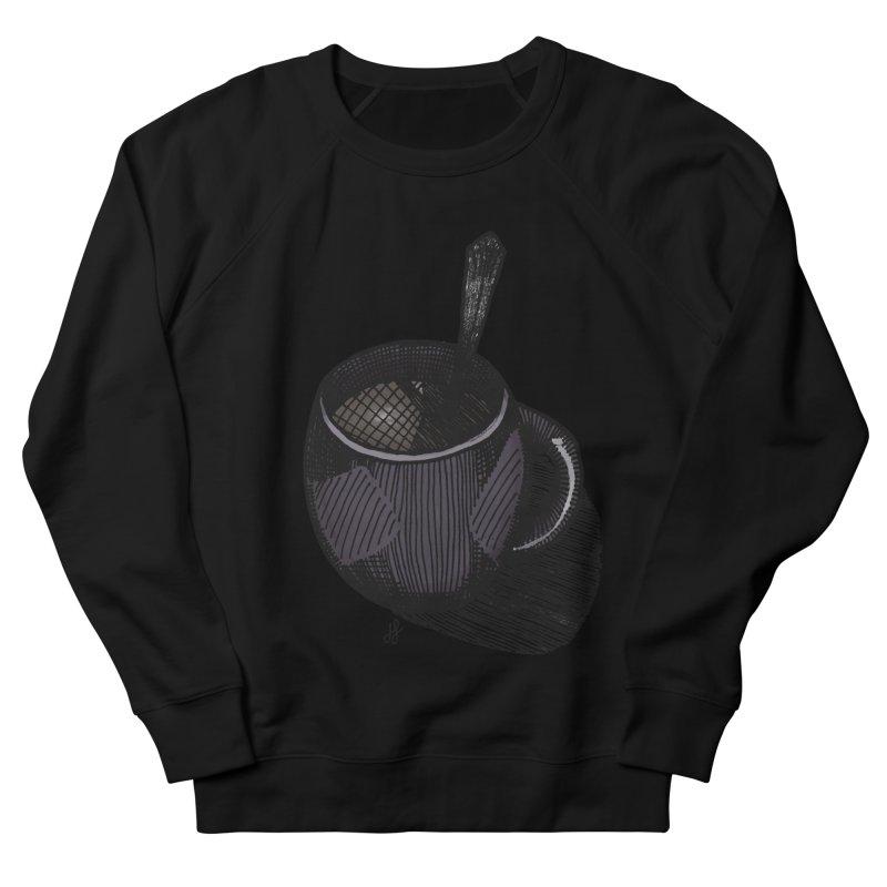 coffee mug (dark version) Men's French Terry Sweatshirt by J. Lavallee's Artist Shop