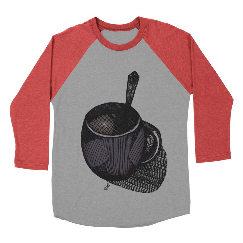 coffee mug (dark version) Men's Longsleeve T-Shirt by J. Lavallee's Artist Shop