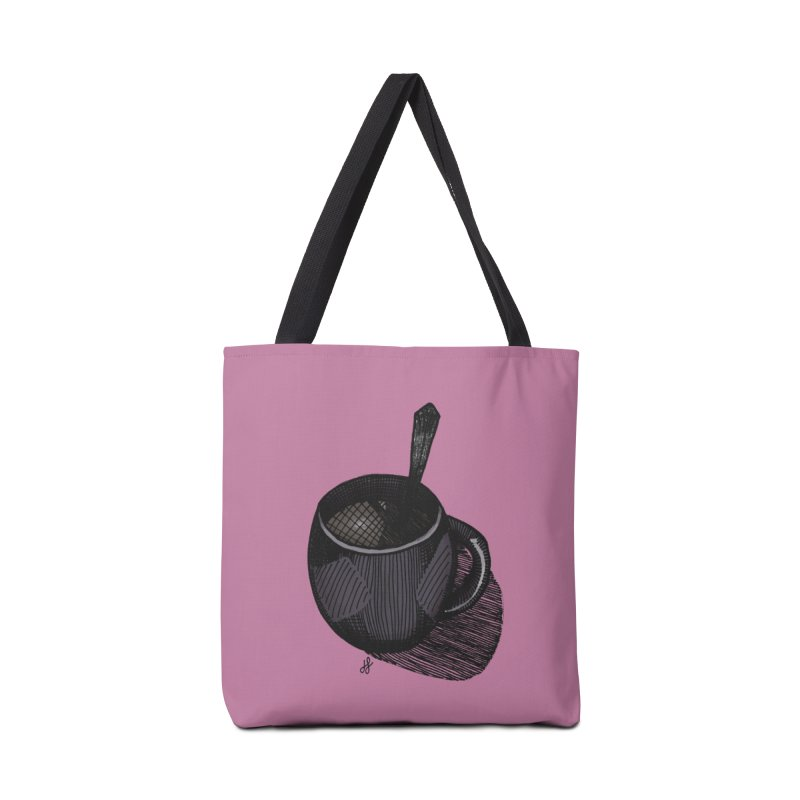 coffee mug (dark version) Accessories Tote Bag Bag by J. Lavallee's Artist Shop