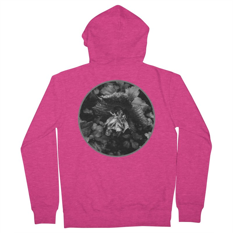 raindrops Women's French Terry Zip-Up Hoody by J. Lavallee's Artist Shop