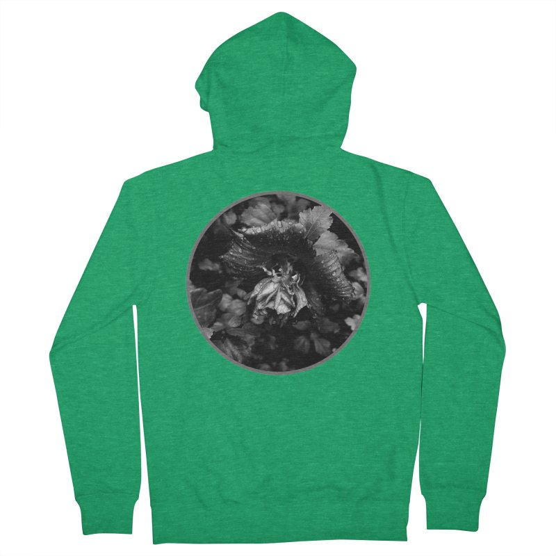 raindrops Men's French Terry Zip-Up Hoody by J. Lavallee's Artist Shop