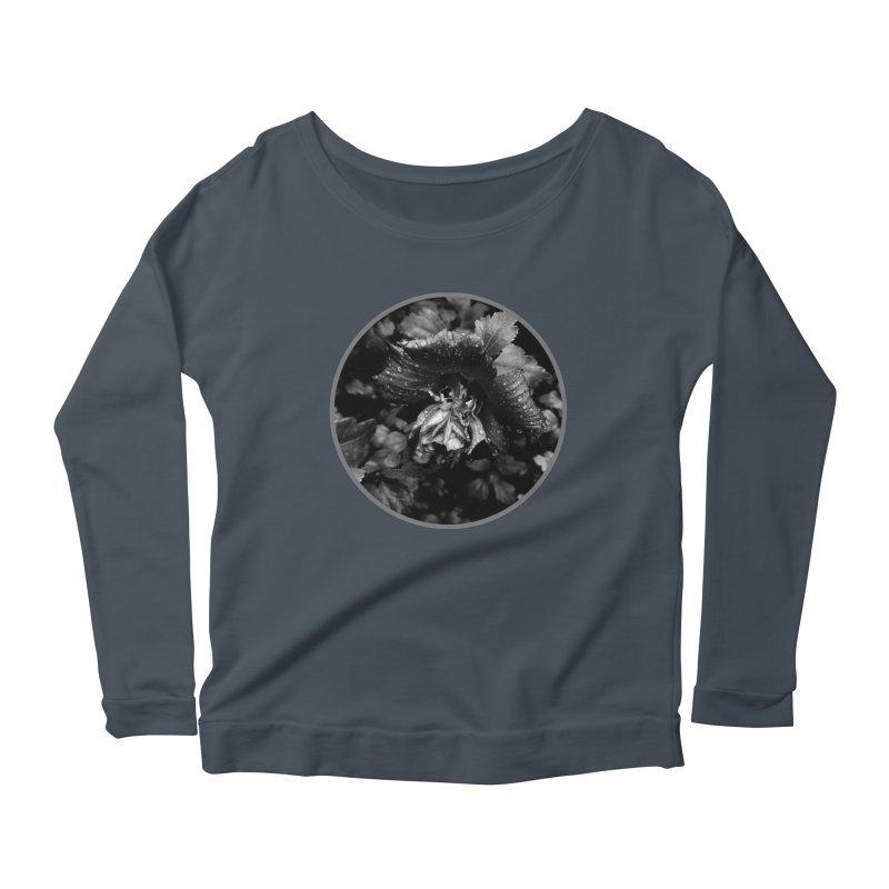 raindrops Women's Scoop Neck Longsleeve T-Shirt by J. Lavallee's Artist Shop