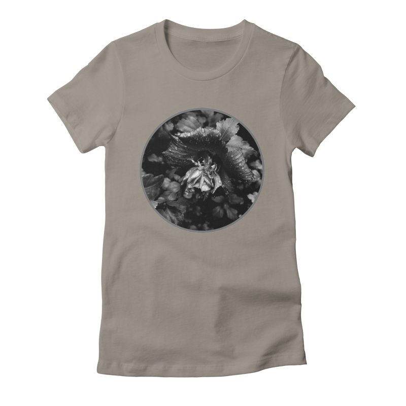 raindrops Women's Fitted T-Shirt by J. Lavallee's Artist Shop