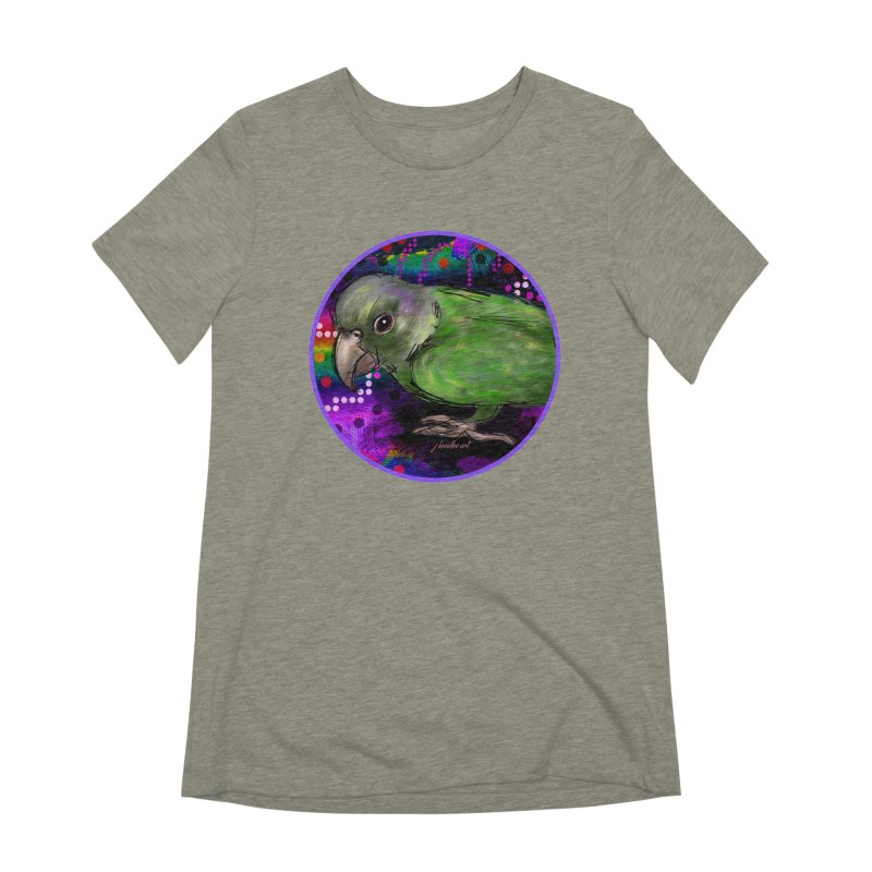 space fawkes Women's Extra Soft T-Shirt by J. Lavallee's Artist Shop