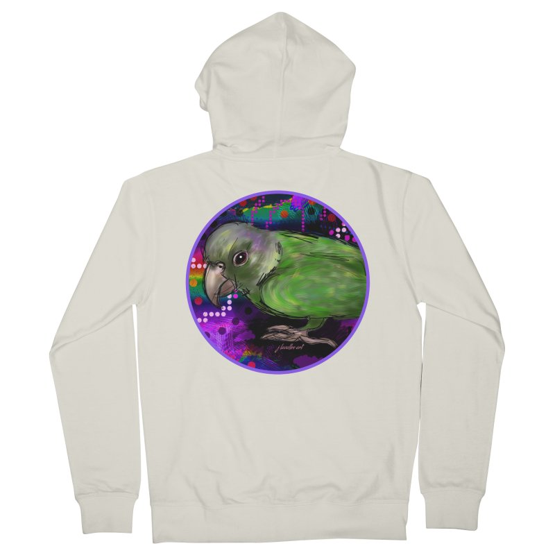 space fawkes Women's French Terry Zip-Up Hoody by J. Lavallee's Artist Shop