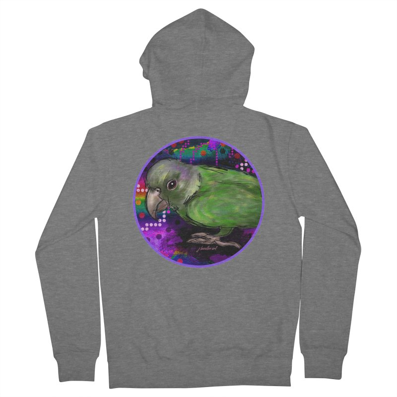 space fawkes Men's French Terry Zip-Up Hoody by J. Lavallee's Artist Shop