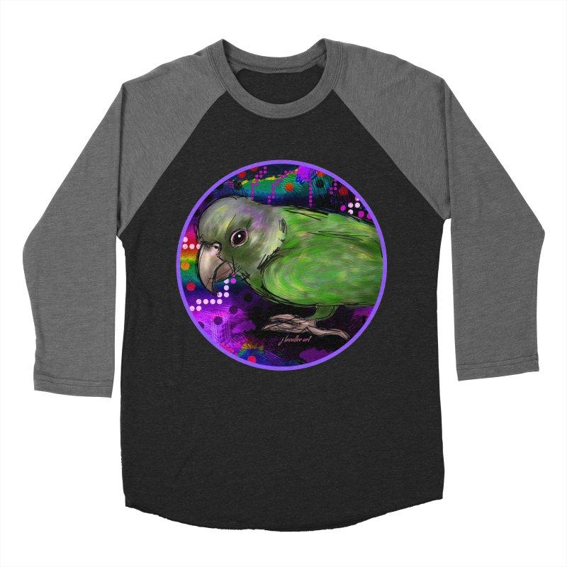 space fawkes Women's Baseball Triblend Longsleeve T-Shirt by J. Lavallee's Artist Shop