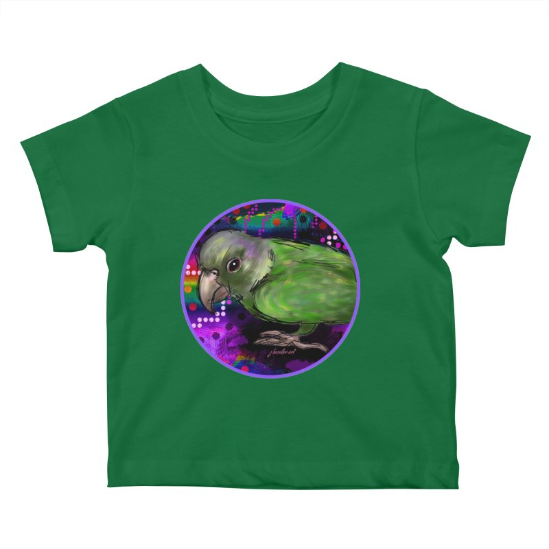 space fawkes Kids Baby T-Shirt by J. Lavallee's Artist Shop