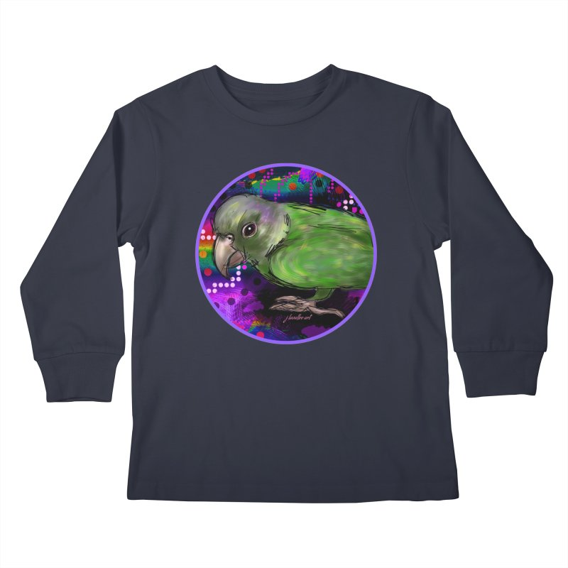 space fawkes Kids Longsleeve T-Shirt by J. Lavallee's Artist Shop