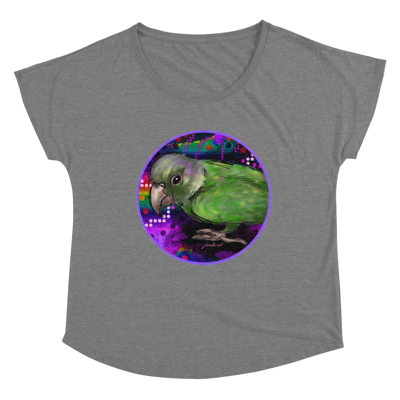 space fawkes Women's Scoop Neck by J. Lavallee's Artist Shop