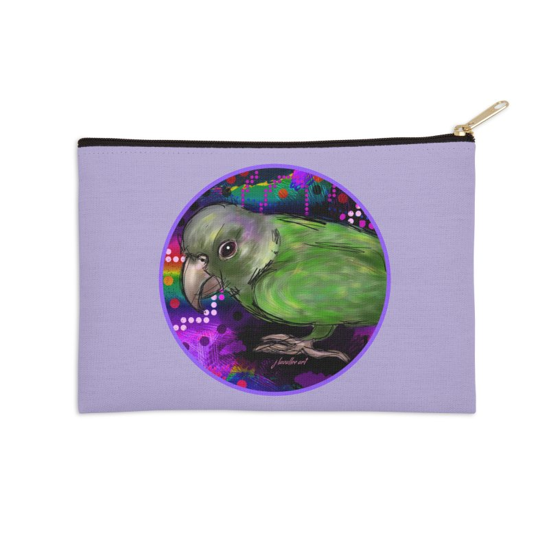 space fawkes Accessories Zip Pouch by J. Lavallee's Artist Shop