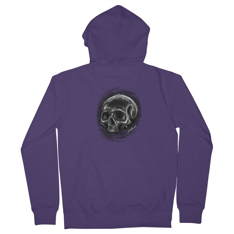 whatever hamlet said Women's French Terry Zip-Up Hoody by J. Lavallee's Artist Shop