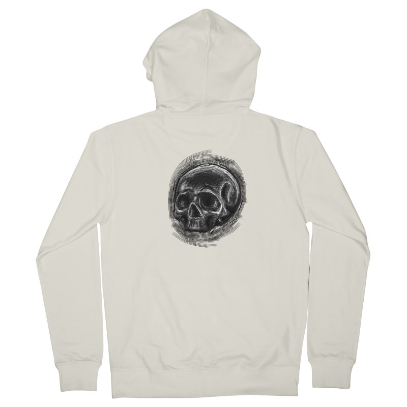 whatever hamlet said Men's French Terry Zip-Up Hoody by J. Lavallee's Artist Shop