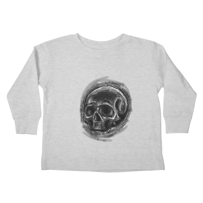 whatever hamlet said Kids Toddler Longsleeve T-Shirt by J. Lavallee's Artist Shop