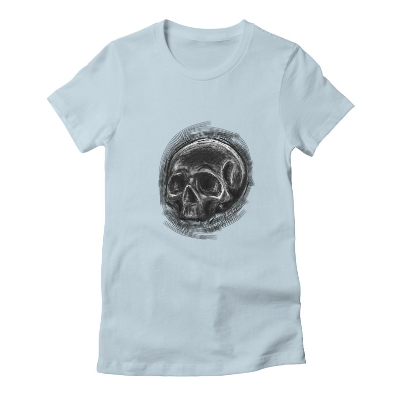whatever hamlet said Women's Fitted T-Shirt by J. Lavallee's Artist Shop