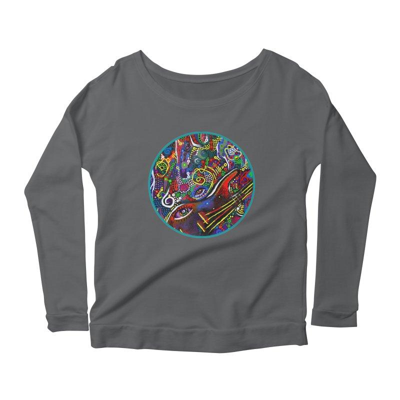 'vibrations' Women's Longsleeve T-Shirt by J. Lavallee's Artist Shop