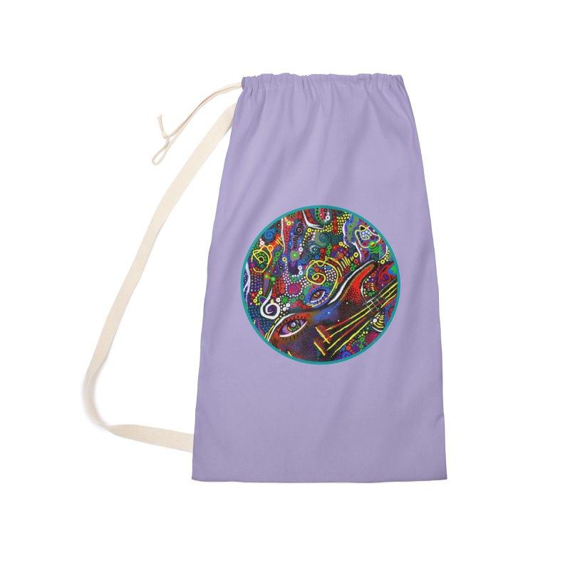 'vibrations' Accessories Bag by J. Lavallee's Artist Shop