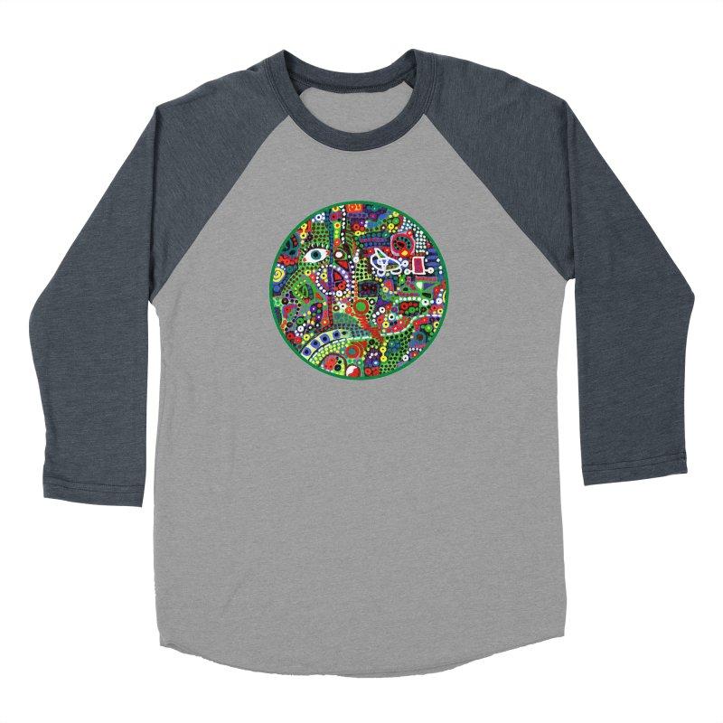 'irregularity' Women's Baseball Triblend Longsleeve T-Shirt by J. Lavallee's Artist Shop